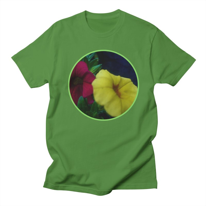 flowers #2 Men's Regular T-Shirt by J. Lavallee's Artist Shop