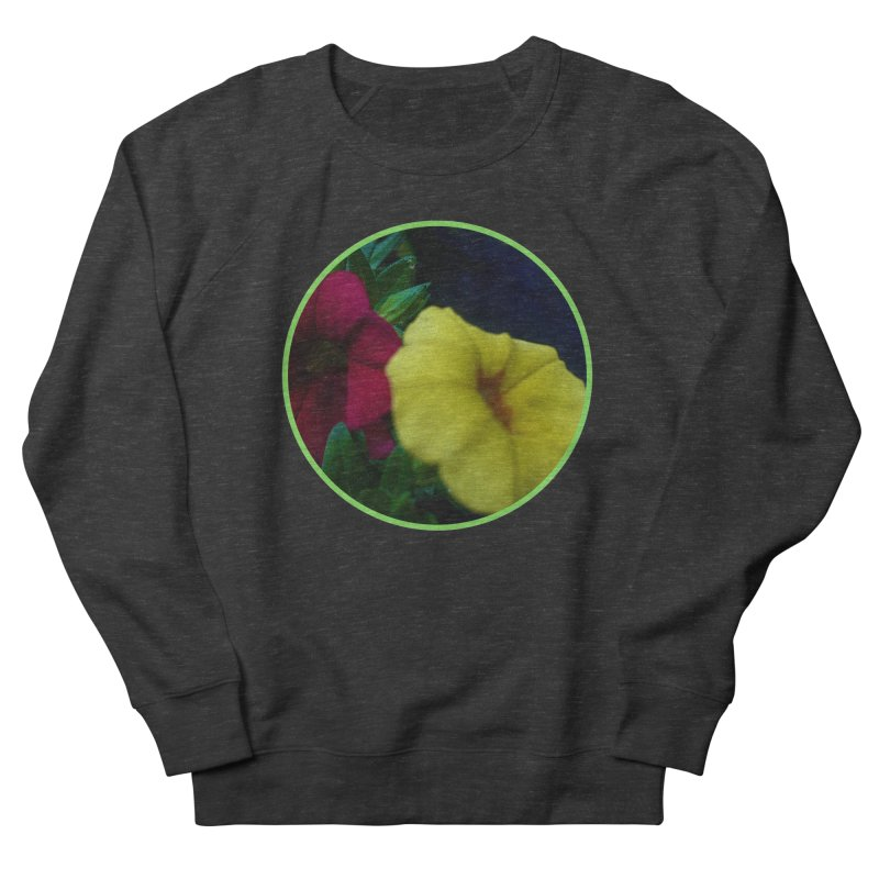 flowers #2 Men's French Terry Sweatshirt by J. Lavallee's Artist Shop