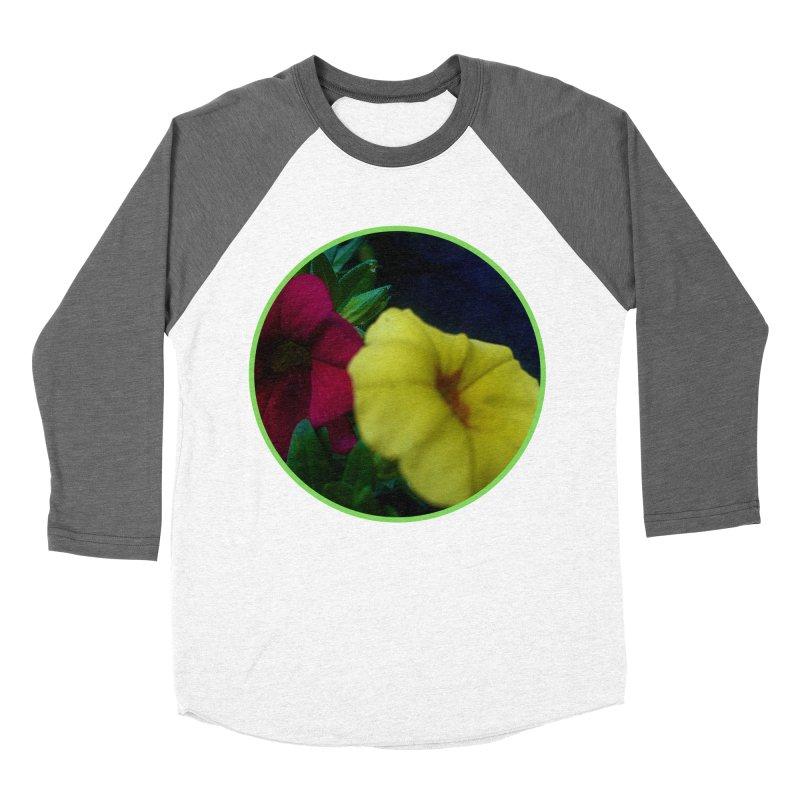 flowers #2 Men's Baseball Triblend Longsleeve T-Shirt by J. Lavallee's Artist Shop