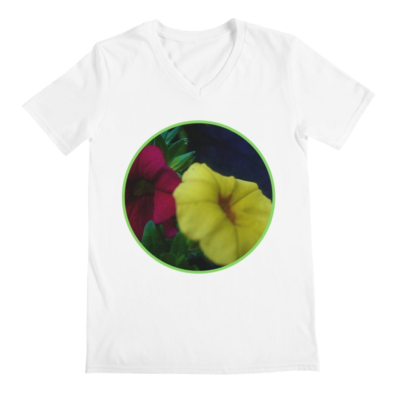 flowers #2 Men's V-Neck by J. Lavallee's Artist Shop