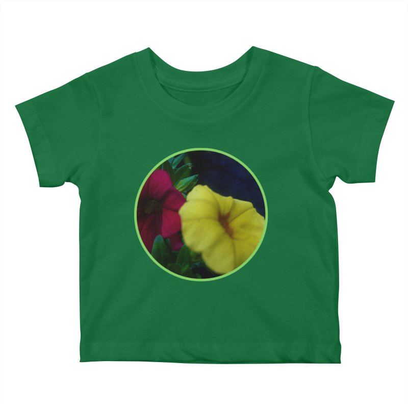 flowers #2 Kids Baby T-Shirt by J. Lavallee's Artist Shop