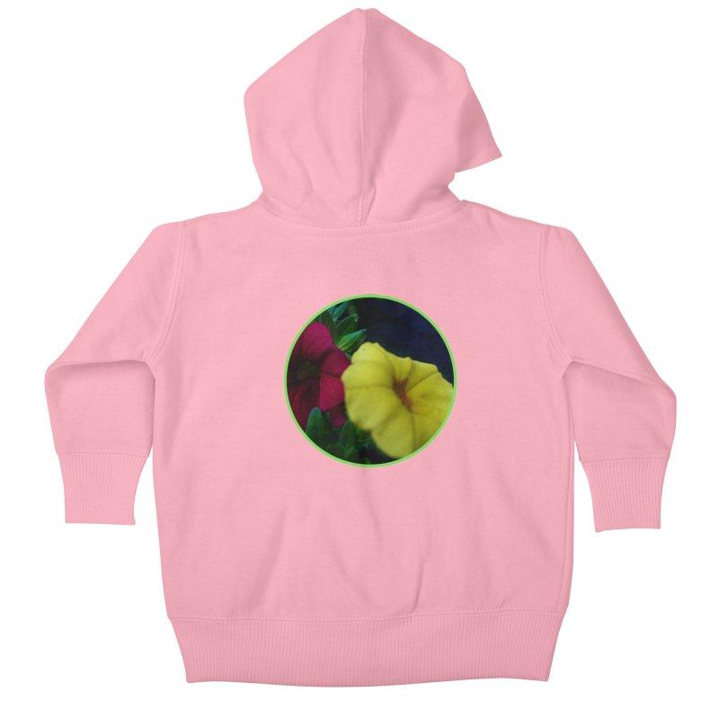 flowers #2 Kids Baby Zip-Up Hoody by J. Lavallee's Artist Shop