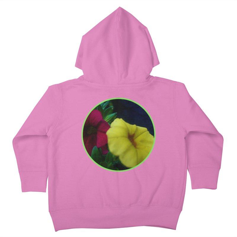 flowers #2 Kids Toddler Zip-Up Hoody by J. Lavallee's Artist Shop