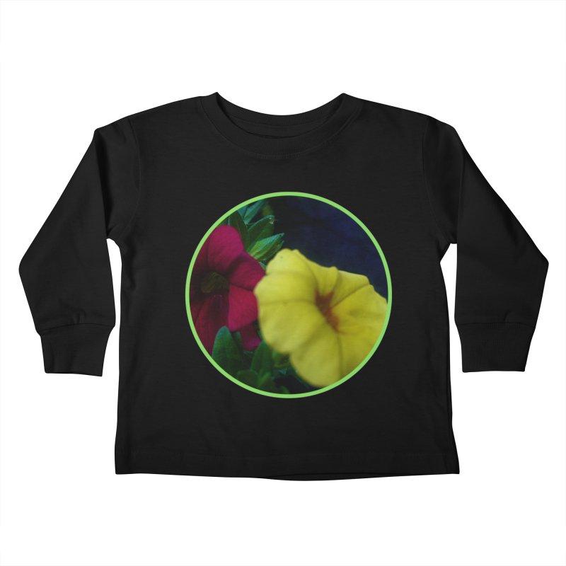 flowers #2 Kids Toddler Longsleeve T-Shirt by J. Lavallee's Artist Shop