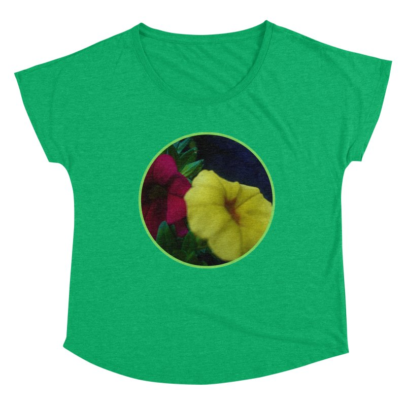flowers #2 Women's Scoop Neck by J. Lavallee's Artist Shop