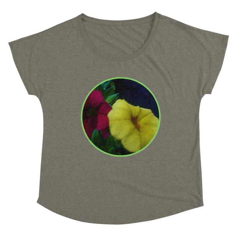 flowers #2 Women's Scoop Neck by J. Lavallee's Artist Shop
