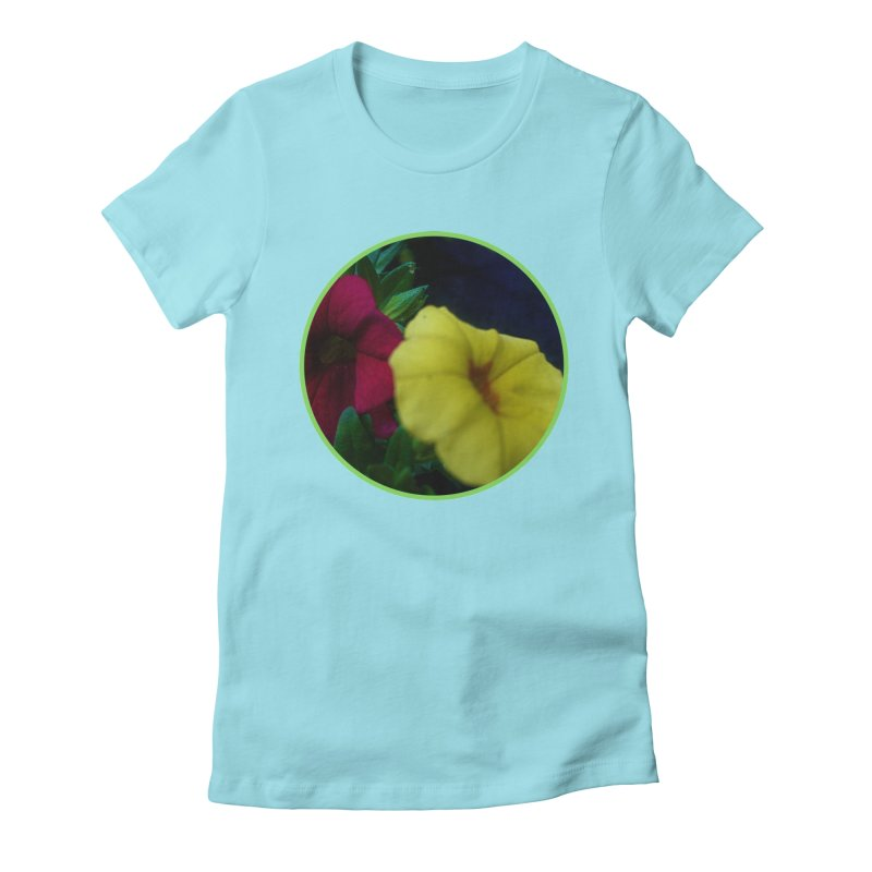 flowers #2 Women's Fitted T-Shirt by J. Lavallee's Artist Shop