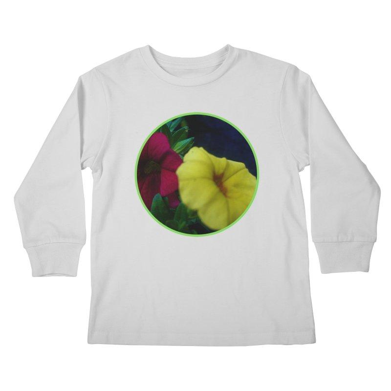flowers #2 Kids Longsleeve T-Shirt by J. Lavallee's Artist Shop