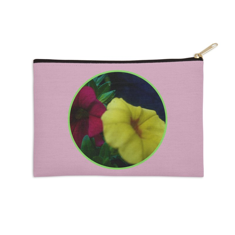 flowers #2 Accessories Zip Pouch by J. Lavallee's Artist Shop