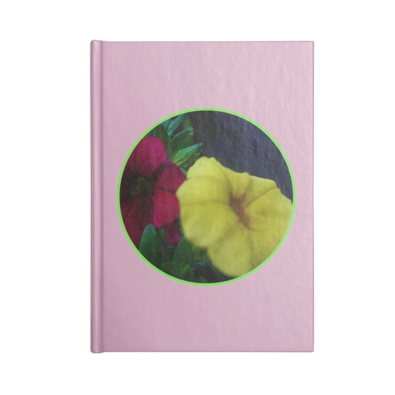 flowers #2 Accessories Lined Journal Notebook by J. Lavallee's Artist Shop