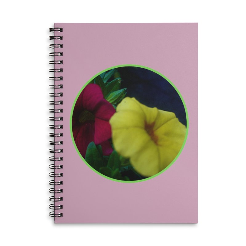 flowers #2 Accessories Lined Spiral Notebook by J. Lavallee's Artist Shop