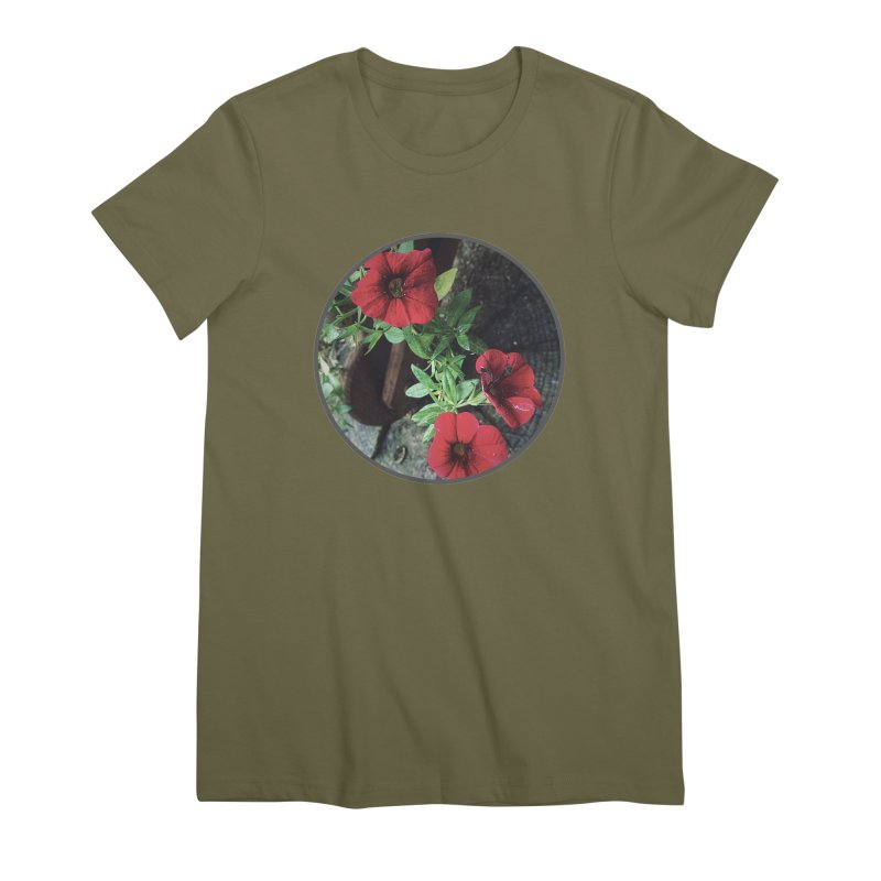 flowers #3 Women's Premium T-Shirt by J. Lavallee's Artist Shop