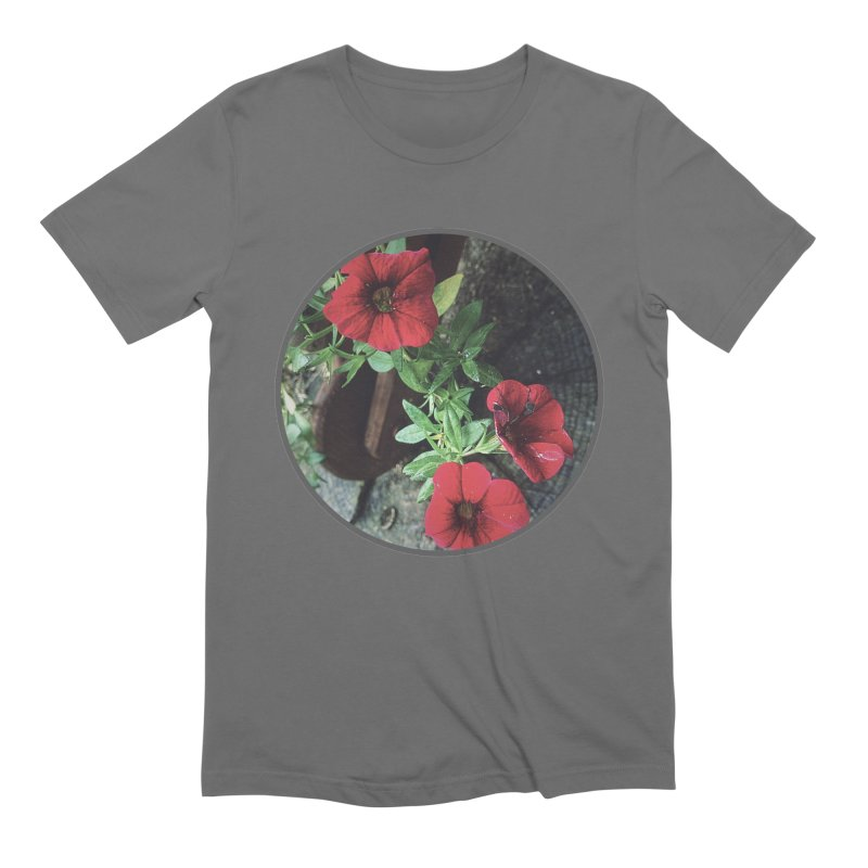 flowers #3 Men's T-Shirt by J. Lavallee's Artist Shop