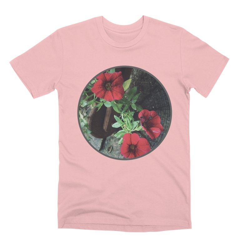 flowers #3 Men's Premium T-Shirt by J. Lavallee's Artist Shop