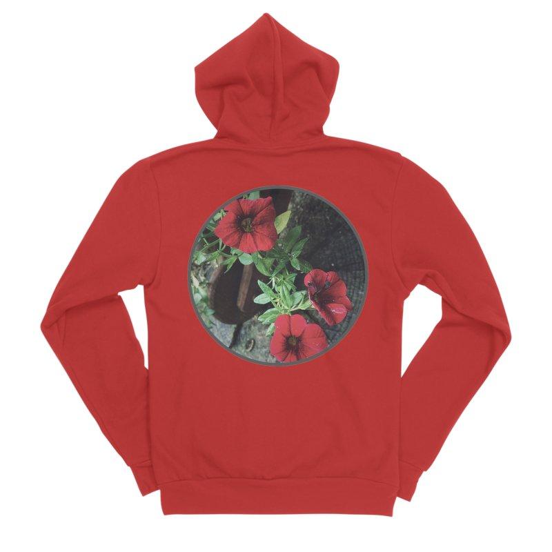 flowers #3 Men's Zip-Up Hoody by J. Lavallee's Artist Shop