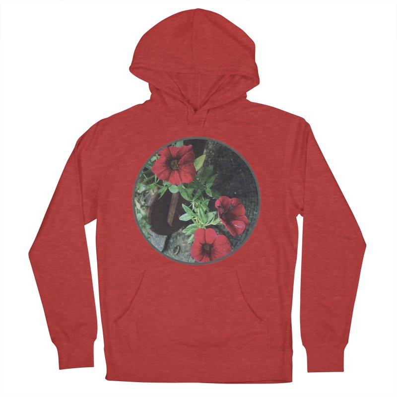 flowers #3 Men's French Terry Pullover Hoody by J. Lavallee's Artist Shop