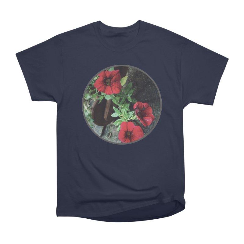 flowers #3 Women's Heavyweight Unisex T-Shirt by J. Lavallee's Artist Shop
