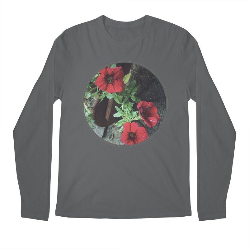 flowers #3 Men's Regular Longsleeve T-Shirt by J. Lavallee's Artist Shop