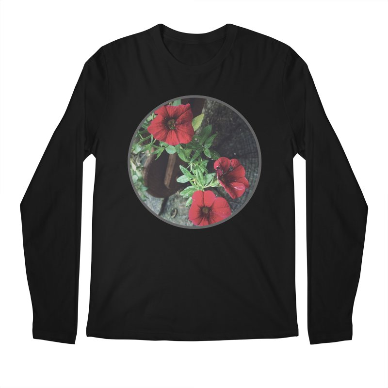 flowers #3 Men's Regular Longsleeve T-Shirt by J. Lavallee's Artist Shop