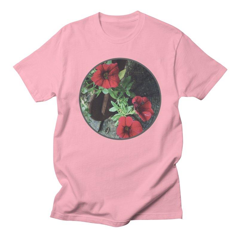 flowers #3 Men's Regular T-Shirt by J. Lavallee's Artist Shop