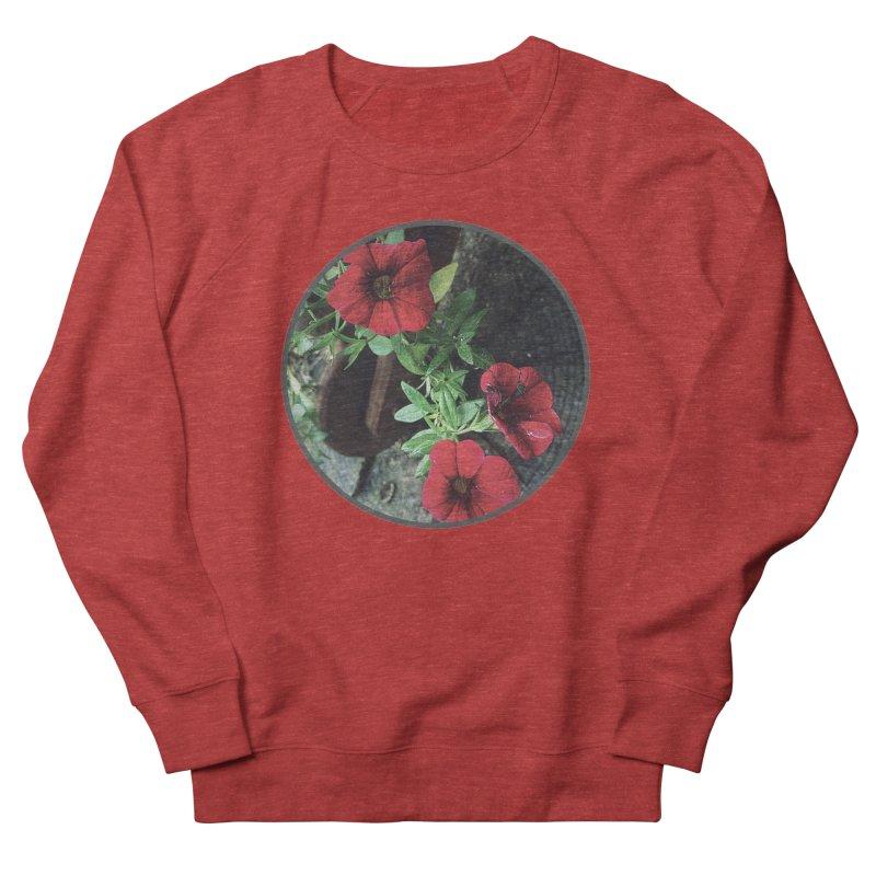 flowers #3 Women's French Terry Sweatshirt by J. Lavallee's Artist Shop