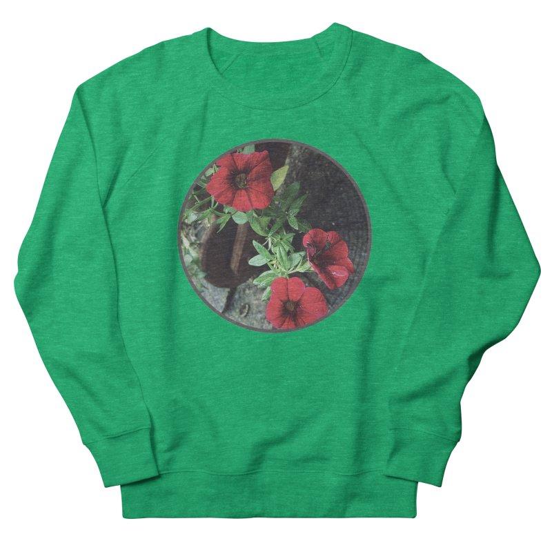 flowers #3 Men's French Terry Sweatshirt by J. Lavallee's Artist Shop
