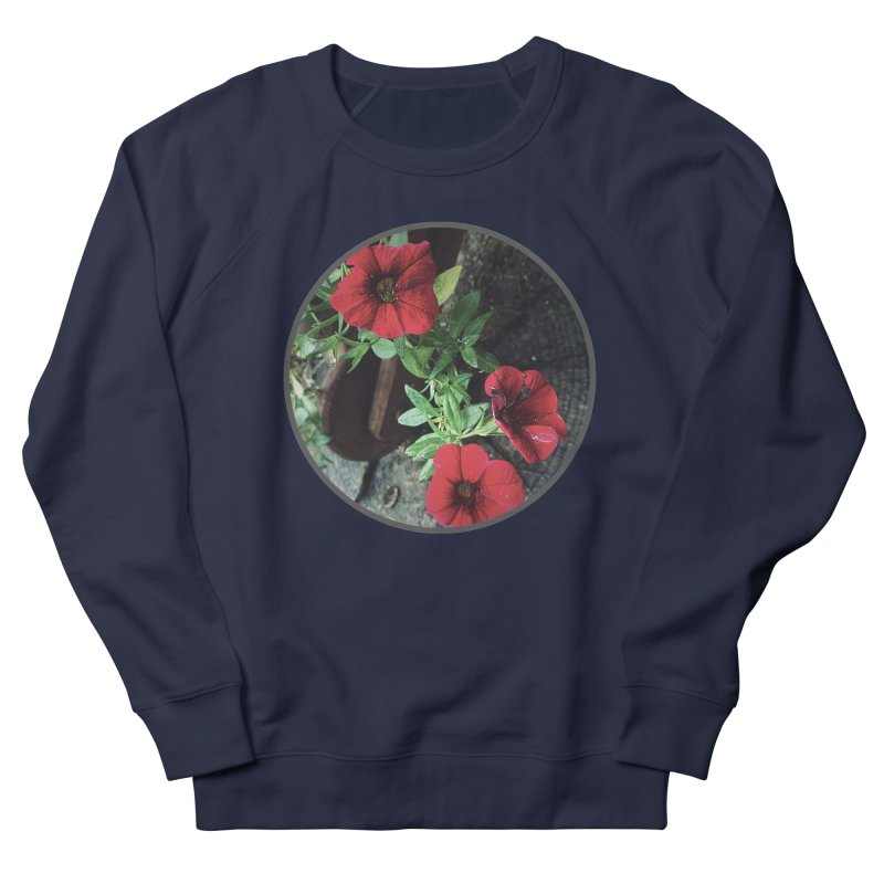 flowers #3 Men's French Terry Sweatshirt by J. Lavallee's Artist Shop