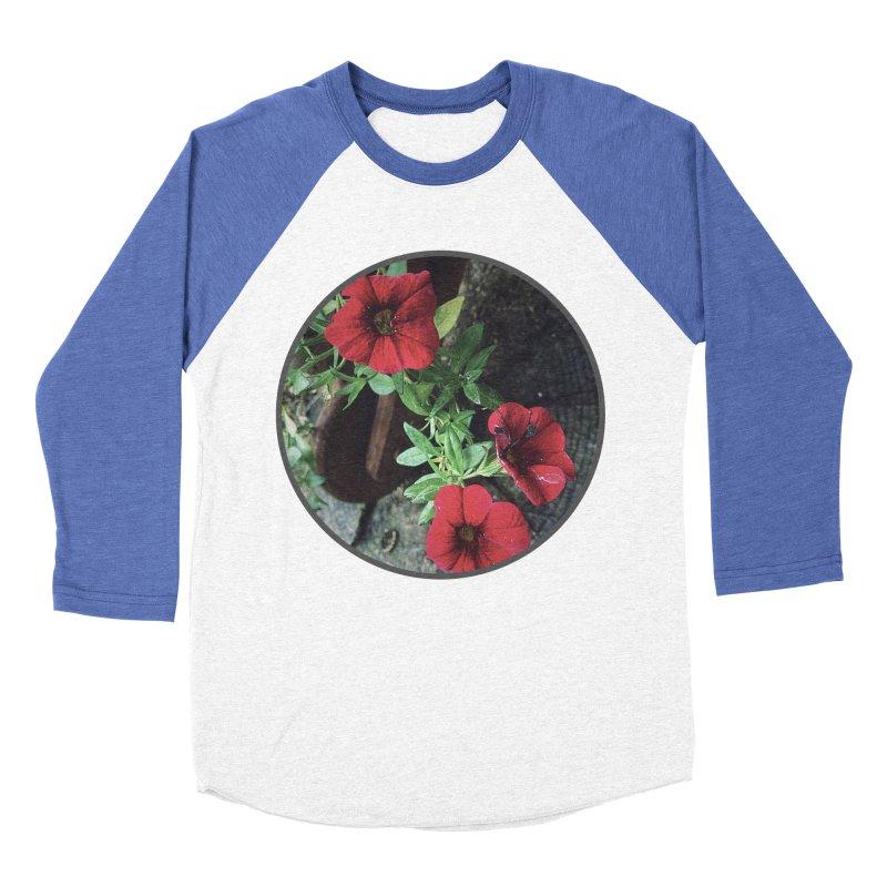flowers #3 Women's Baseball Triblend Longsleeve T-Shirt by J. Lavallee's Artist Shop