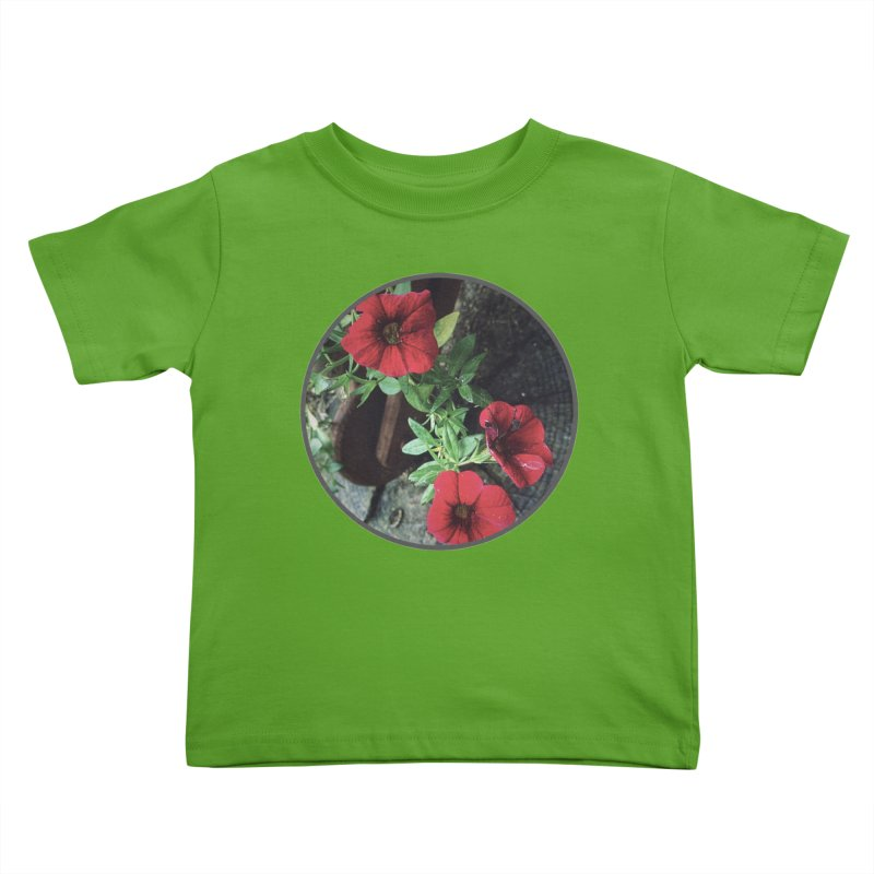 flowers #3 Kids Toddler T-Shirt by J. Lavallee's Artist Shop