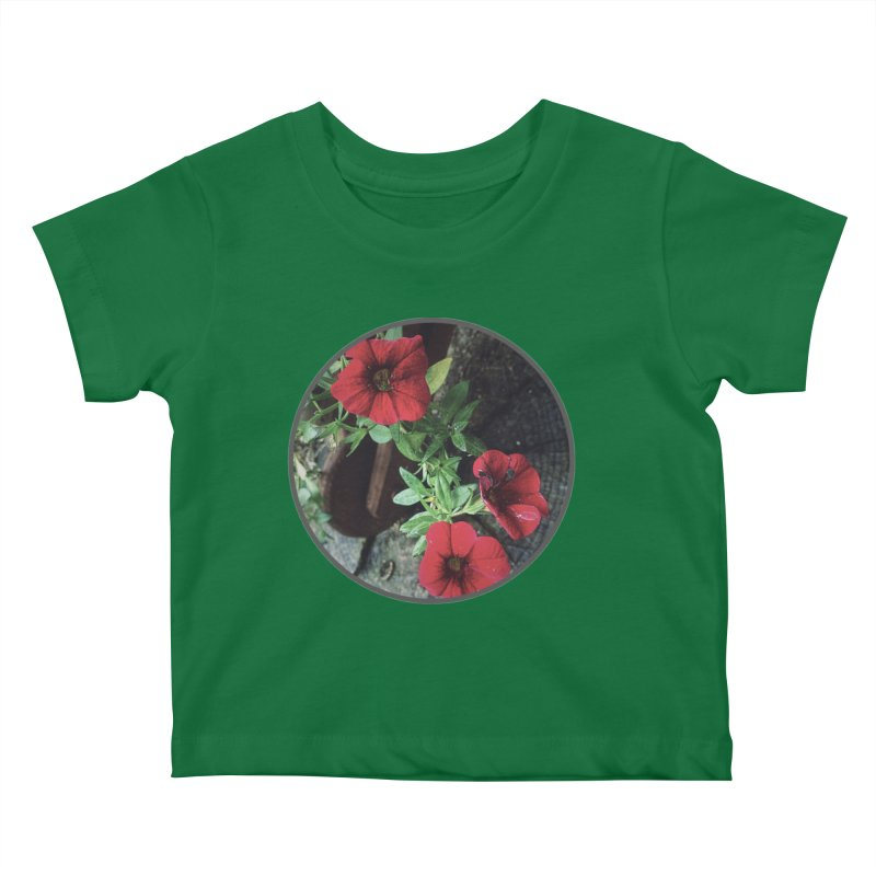 flowers #3 Kids Baby T-Shirt by J. Lavallee's Artist Shop