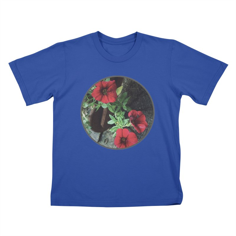flowers #3 Kids T-Shirt by J. Lavallee's Artist Shop