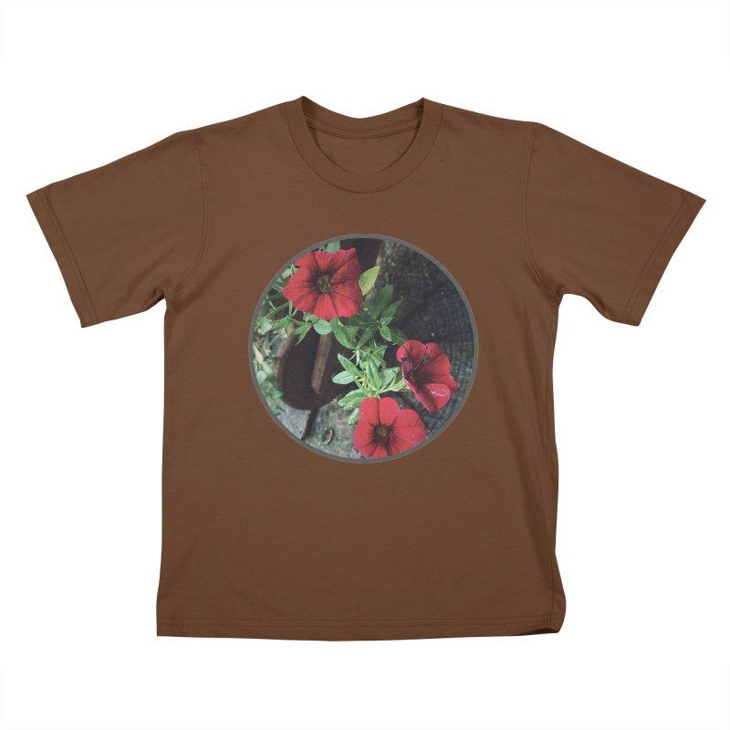 flowers #3 Kids T-Shirt by J. Lavallee's Artist Shop