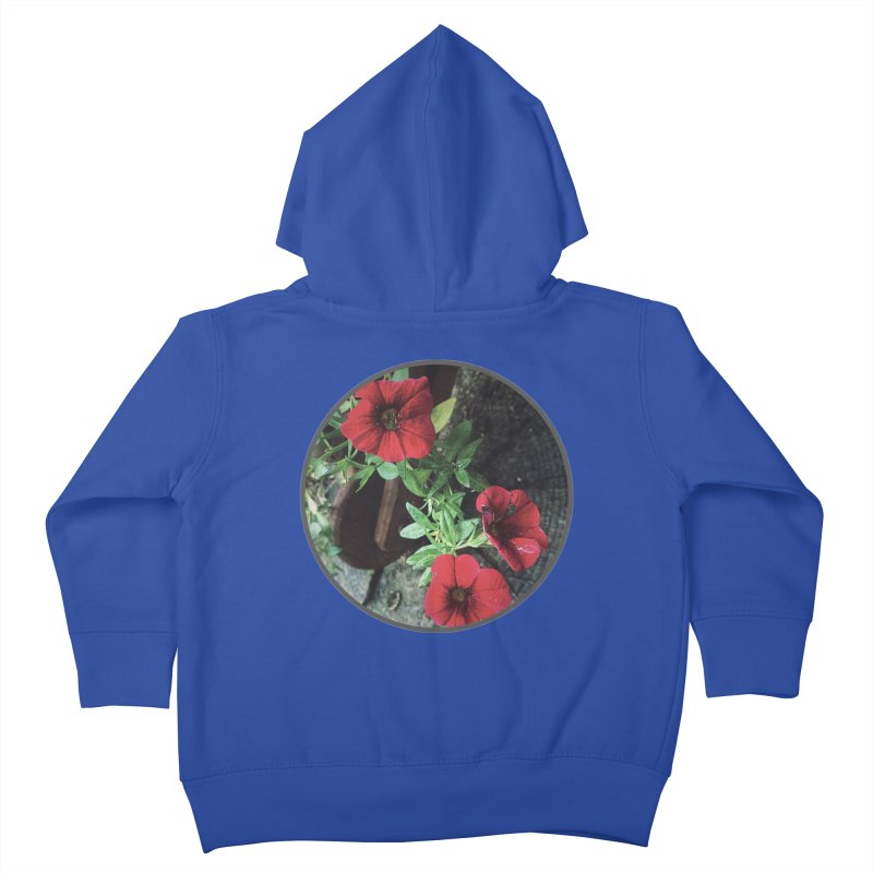 flowers #3 Kids Toddler Zip-Up Hoody by J. Lavallee's Artist Shop