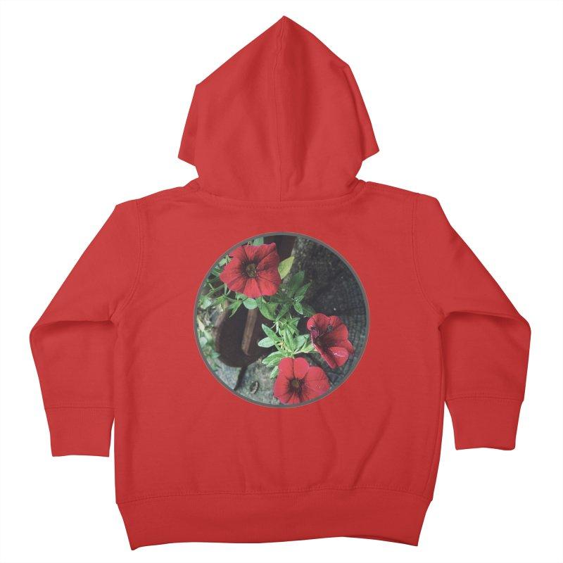 flowers #3 Kids Toddler Zip-Up Hoody by J. Lavallee's Artist Shop