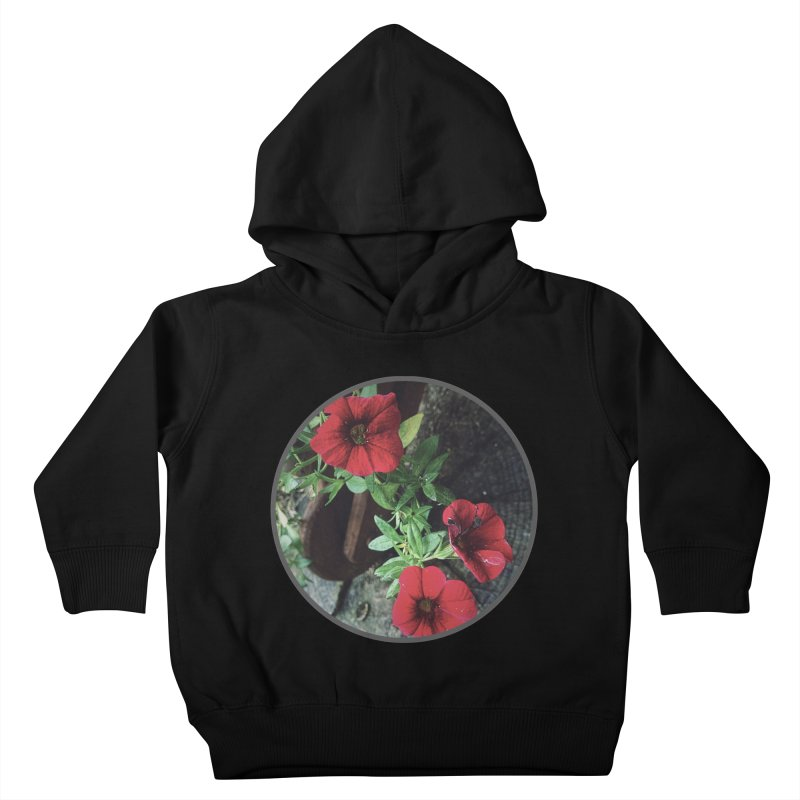 flowers #3 Kids Toddler Pullover Hoody by J. Lavallee's Artist Shop