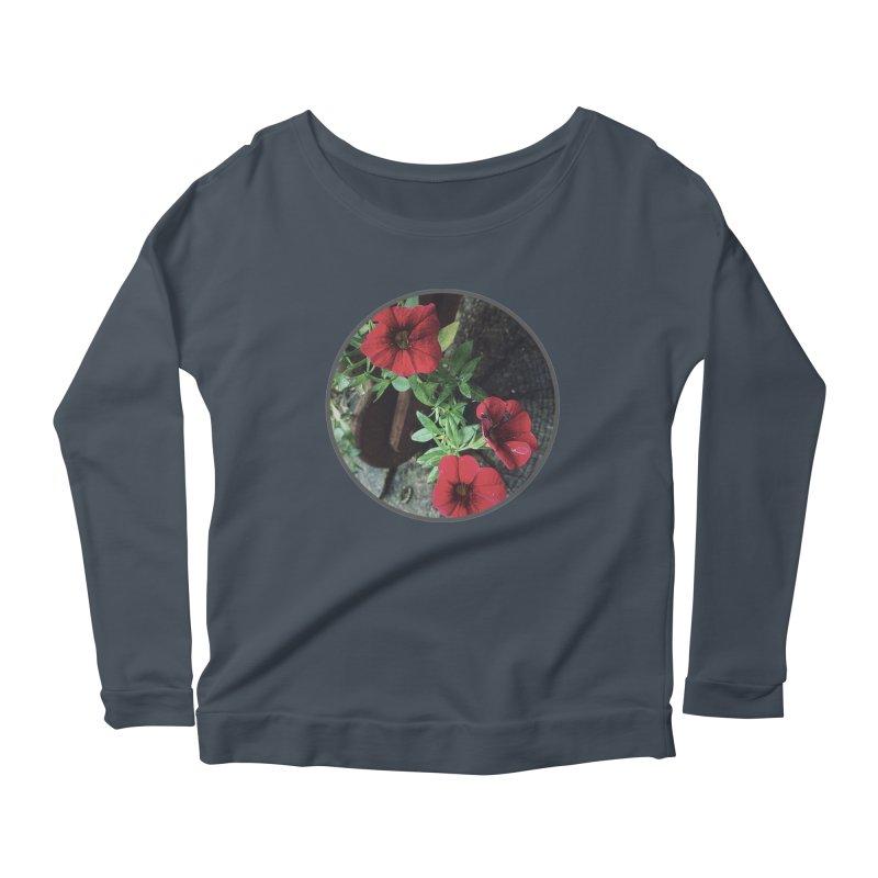 flowers #3 Women's Longsleeve T-Shirt by J. Lavallee's Artist Shop
