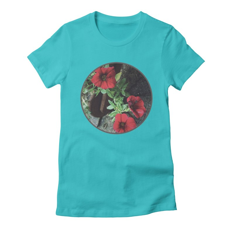 flowers #3 Women's Fitted T-Shirt by J. Lavallee's Artist Shop