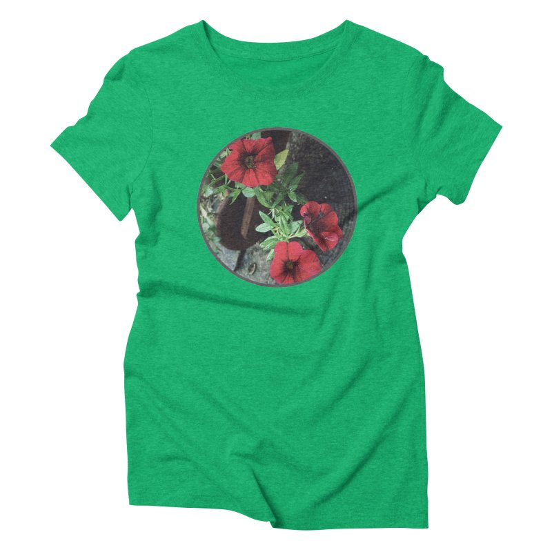 flowers #3 Women's Triblend T-Shirt by J. Lavallee's Artist Shop