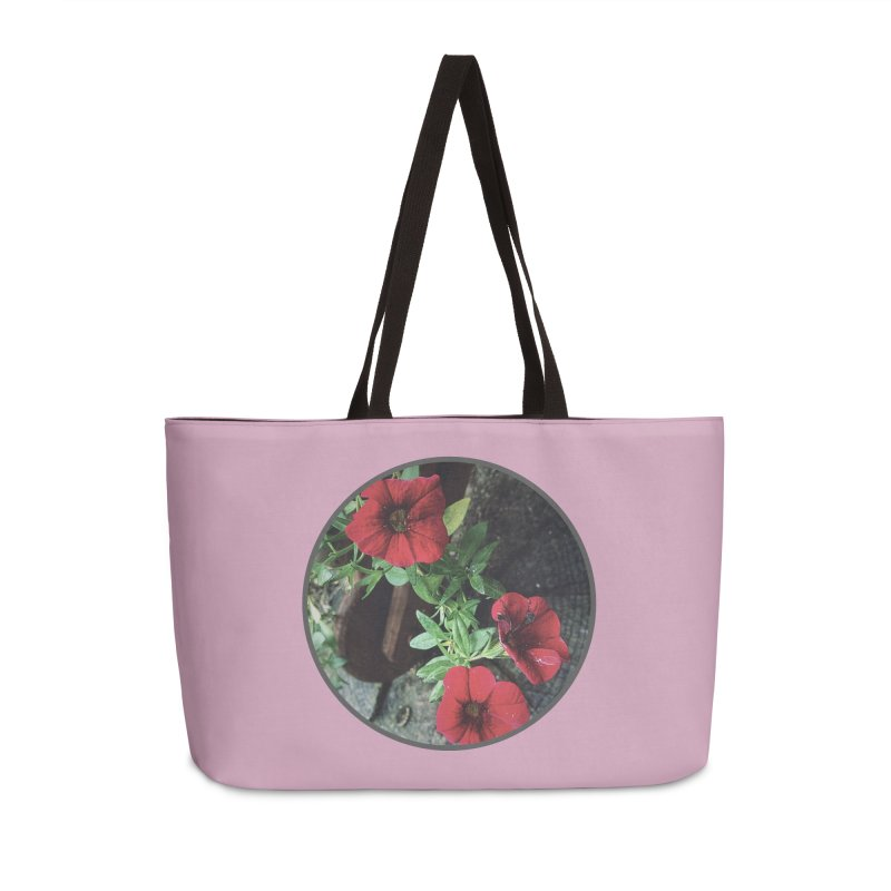flowers #3 Accessories Weekender Bag Bag by J. Lavallee's Artist Shop