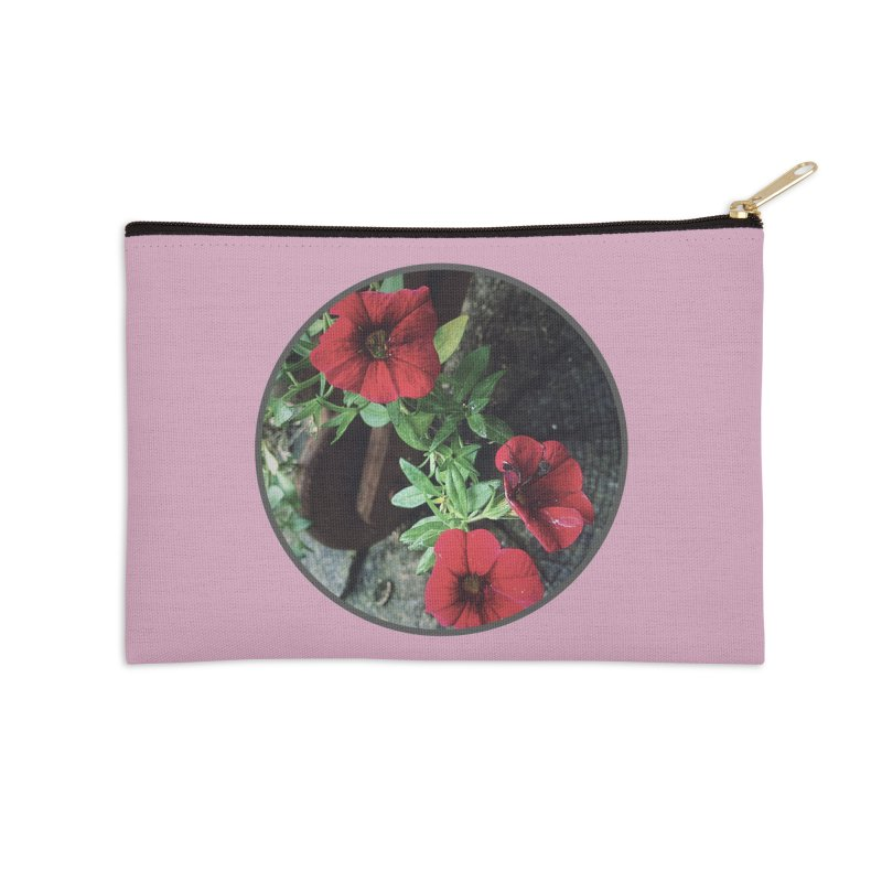 flowers #3 Accessories Zip Pouch by J. Lavallee's Artist Shop