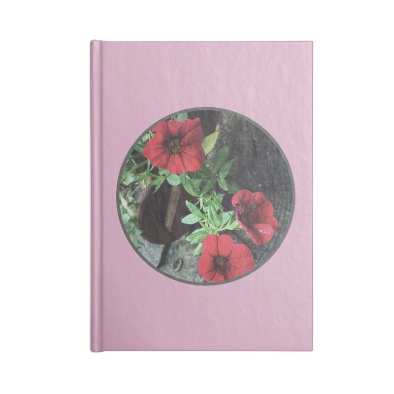 flowers #3 Accessories Lined Journal Notebook by J. Lavallee's Artist Shop