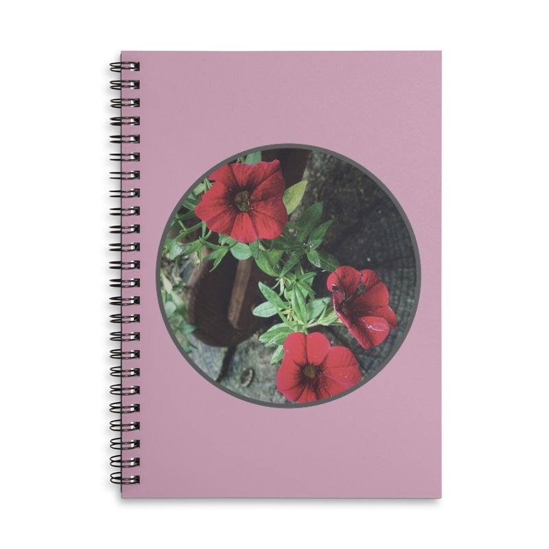 flowers #3 Accessories Lined Spiral Notebook by J. Lavallee's Artist Shop