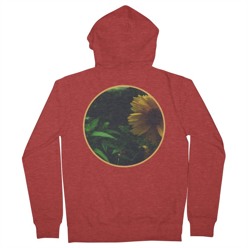flowers #4 Women's French Terry Zip-Up Hoody by J. Lavallee's Artist Shop