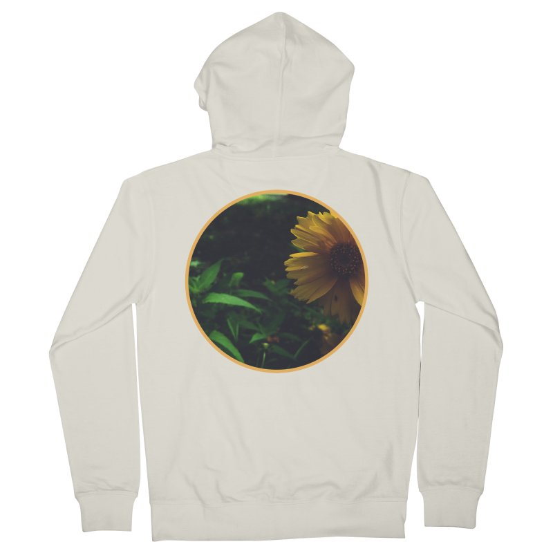 flowers #4 Men's French Terry Zip-Up Hoody by J. Lavallee's Artist Shop