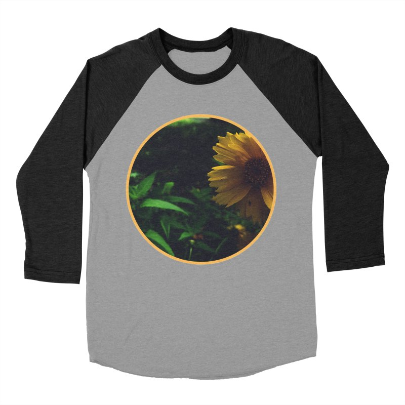 flowers #4 Women's Baseball Triblend Longsleeve T-Shirt by J. Lavallee's Artist Shop