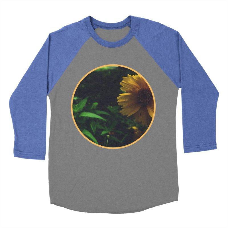 flowers #4 Men's Baseball Triblend Longsleeve T-Shirt by J. Lavallee's Artist Shop