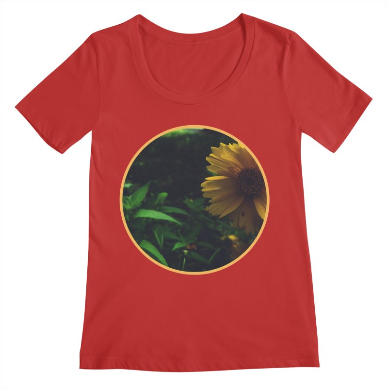 flowers #4 Women's Regular Scoop Neck by J. Lavallee's Artist Shop