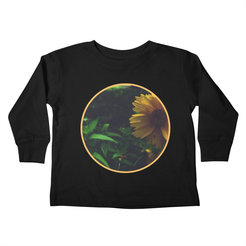flowers #4 Kids Toddler Longsleeve T-Shirt by J. Lavallee's Artist Shop