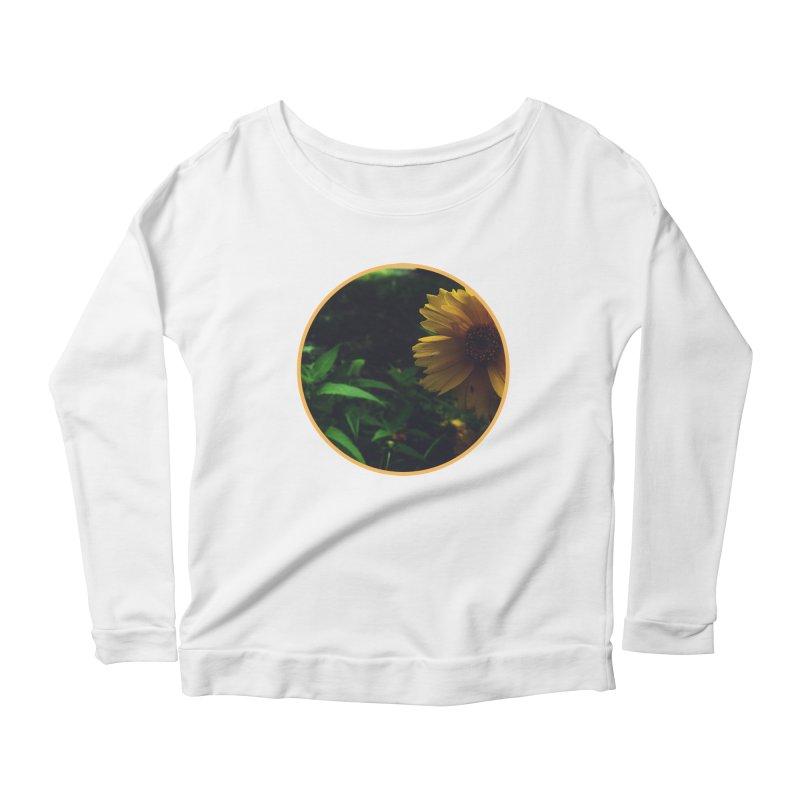 flowers #4 Women's Scoop Neck Longsleeve T-Shirt by J. Lavallee's Artist Shop
