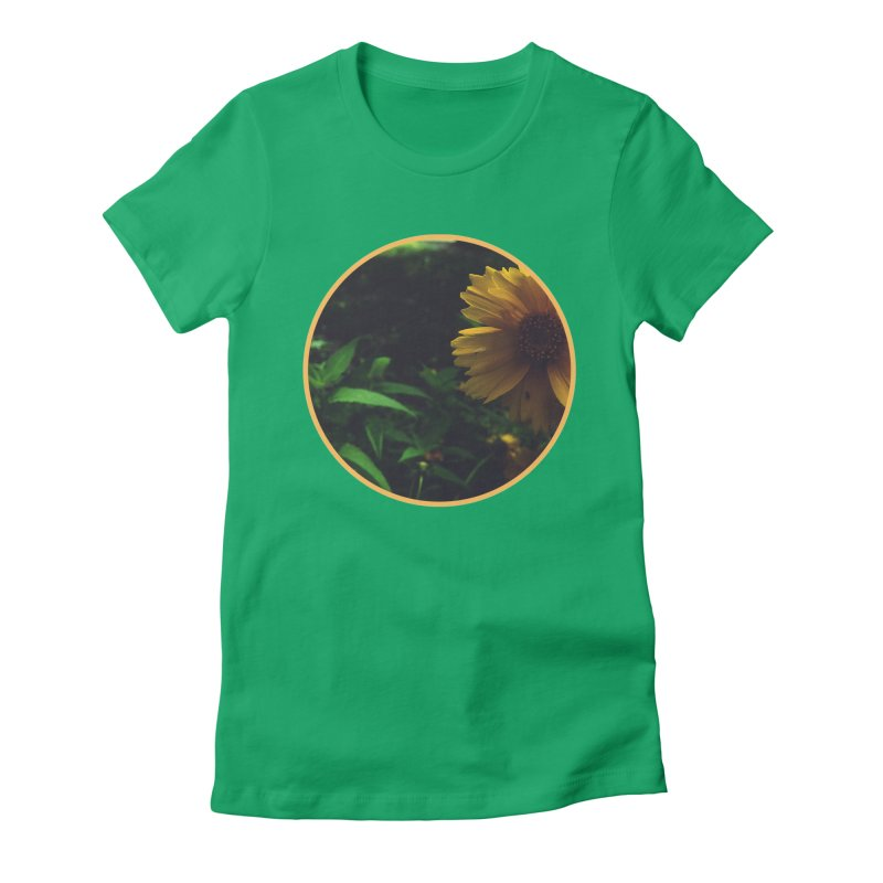 flowers #4 Women's Fitted T-Shirt by J. Lavallee's Artist Shop